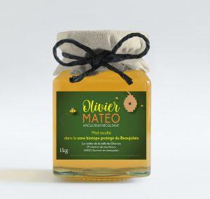 Etiquette olivier carré